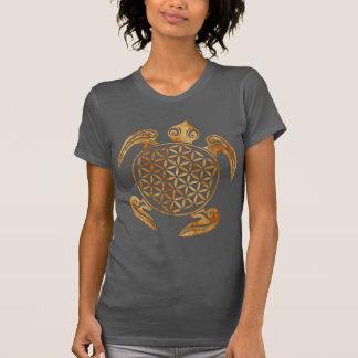 T-shirt Fleur de DES Lebens - pierre de la vie/Blume de