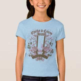 T-shirt Fleur de flamant