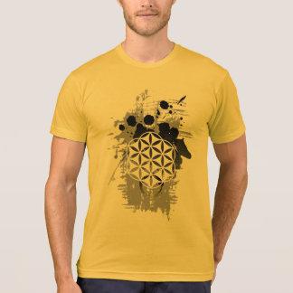 T-shirt Fleur de grunge de la vie