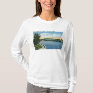 T-shirt Fleur de lac, Scarface Mt dans la distance