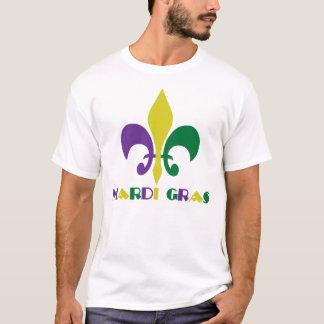 T-shirt ~ Fleur De Lis de mardi gras