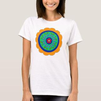 T-shirt Fleur de signe de sortilège