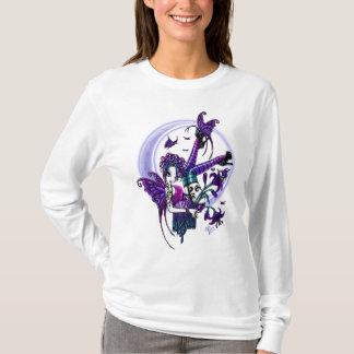 T-shirt Fleur Fae de croissant de lune de Paige