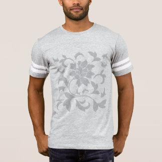 T-shirt Fleur-Gris oriental