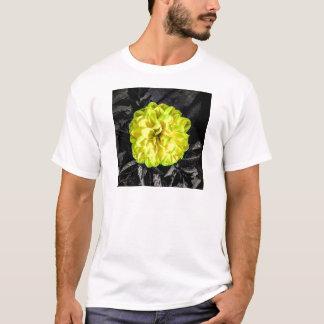 T-shirt Fleur jaune
