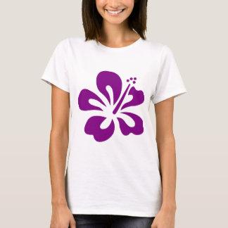 T-shirt Fleur pourpre C de ketmie aloha