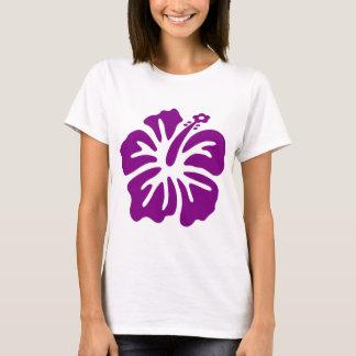 T-shirt Fleur pourpre de ketmie aloha