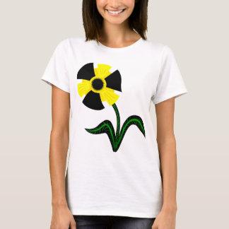 T-shirt Fleur radioactive