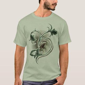 T-shirt fleur tribale de poison