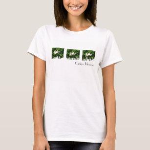 T-shirt Fleurs de Catalpa