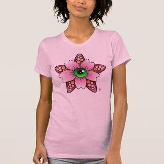 T-shirt Fleurs de cerisier d'étoiles de mer