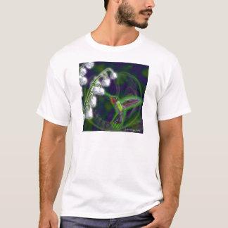 T-shirt Fleurs de colibri et de muguet