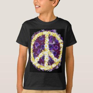 T-shirt fleurs de paix