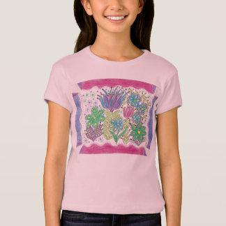 T-shirt fleurs d'imaginaire de veverka