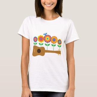 T-shirt Fleurs d'ukulélé