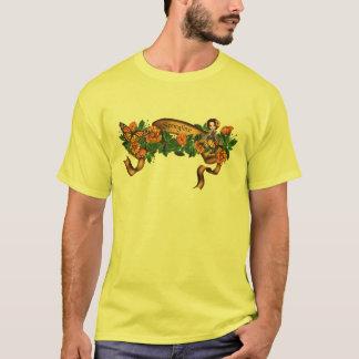 T-shirt Fleurs Fae d'orange de printemps