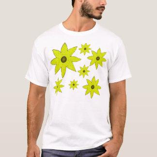 T-shirt Fleurs jaunes