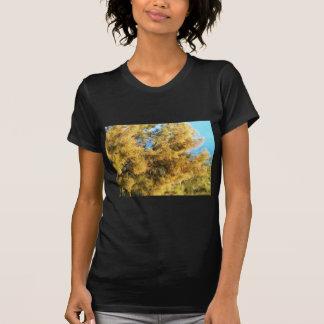 T-shirt Fleurs jaunes lumineuses d'acacia