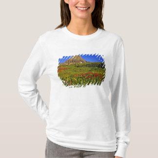T-shirt Fleurs sauvages alpins au passage de Logan en