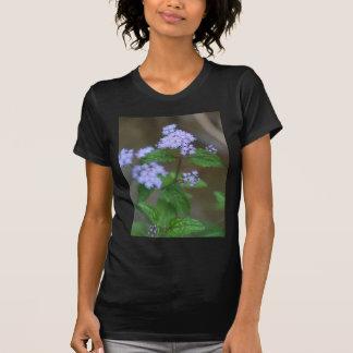 T-shirt Fleurs sauvages sauvages d'Ageratum de lavande de