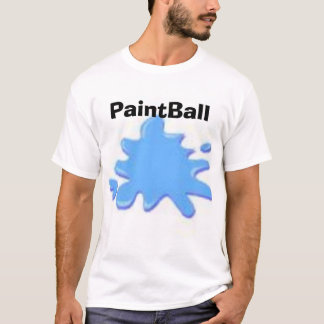 T-shirt floc de paintball