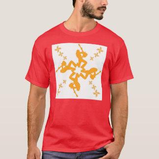 T-shirt Flocon de neige 1 de roche
