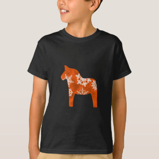T-shirt Flocon de neige de cheval de Dala