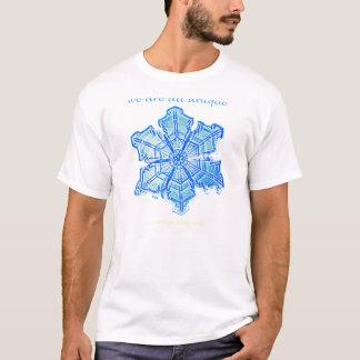 T-shirt Flocon de neige simple