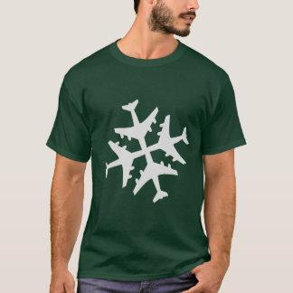 T-shirt Flocon d'hiver
