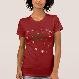 T-shirt Flocons de neige de Joyeux Noël