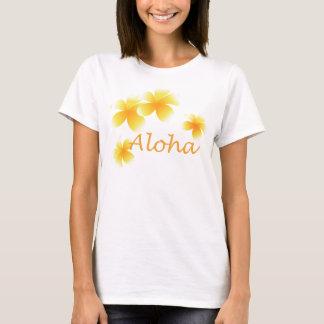 T-shirt floral tropical de dames de partie de Laua