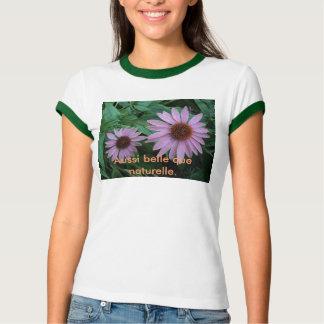 T-shirt Floralement moi