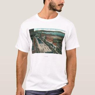 T-shirt Flotte atlantique de marine des USA dans le port