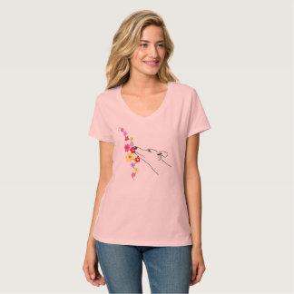 T-shirt Flower dog