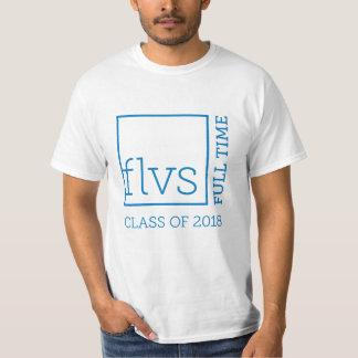 T-shirt FLVS à plein temps 2018 chemises unisexes