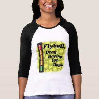 T-shirt Flyball est entrave emballant pour des chiens !