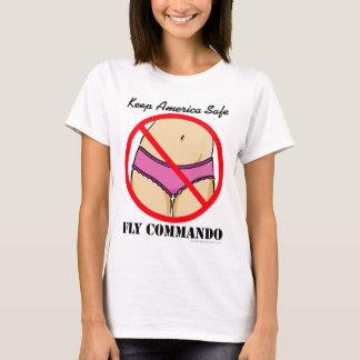 T-shirt FlyCommando-Culottes