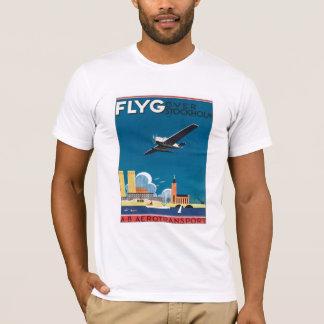 T-shirt FLYG Stockholm Suède