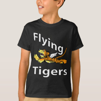 T-shirt Flying Tigers - tigre à ailes