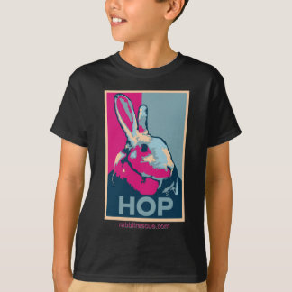T-shirt foncé d'HOUBLON pour des enfants