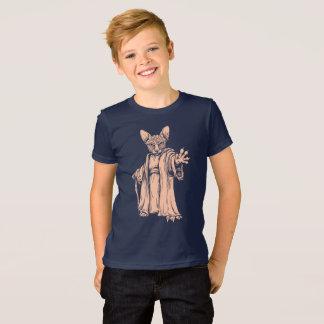T-shirt foncé principal de Sphynx pour des enfants