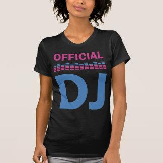 T-shirt fonctionnaire DJ