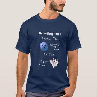 T-shirt Fondements de bowling