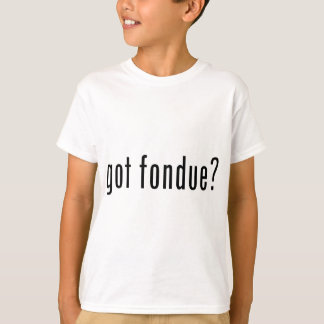 T-shirt fondue obtenue ?