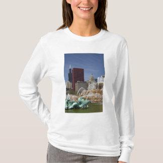 T-shirt Fontaine de Buckingham située dans le parc de