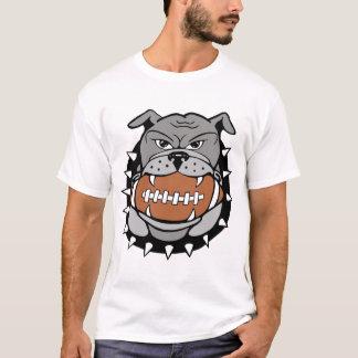 T-shirt football_bulldog_color