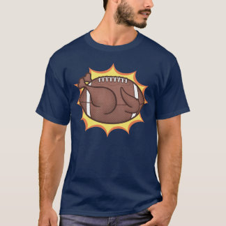 T-shirt football-dinde-T