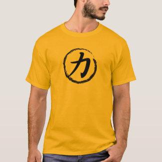 T-shirt Force de kanji