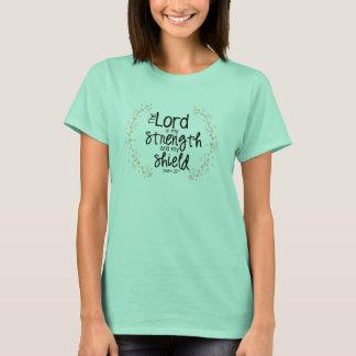 T-shirt force et bouclier