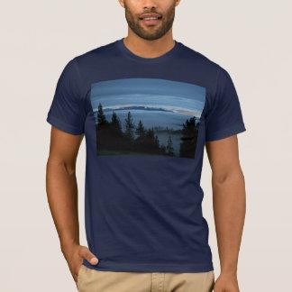 T-shirt Forêt de brume de l'Orégon